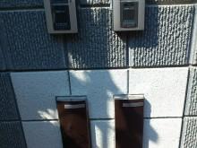 横浜市 外構施工例 二世帯 門袖アップ ポスト リーダ