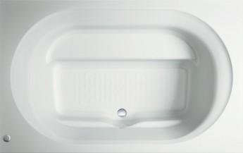 家族との入浴にワイド浴槽