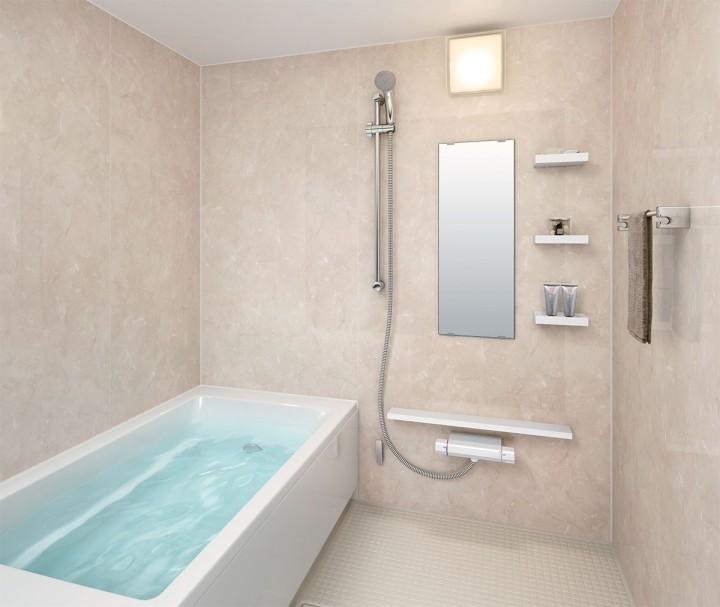浴槽の多彩なデザインで自分に合ったお風呂が楽しめます