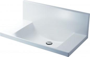 洗面器一体形カウンター