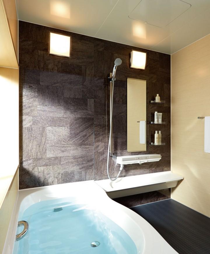 人造大理石で汚れがつきにくい浴槽