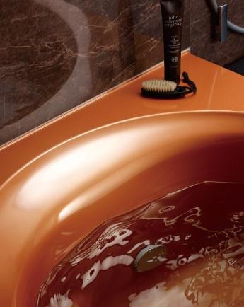 艶やかで美しさが長持ちする人造大理石の浴槽