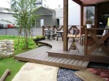 神奈川県を中心としたウッドデッキ エバーエコウッド タンモクウッド 施工例