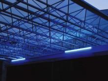 LED照明で夜も安心なMシェード