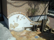 神奈川県を中心とした水まわり デザイン水栓 アニマルハンドル 水受けボウル 立水栓