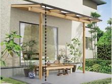樹の木テラス 稼働桁タイプ(丸雨樋仕様)