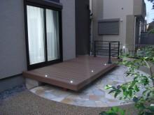 ウッドデッキ 樹脂デッキ施工例 横須賀市