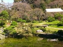 大磯町 吉田邸 池とサンルーム