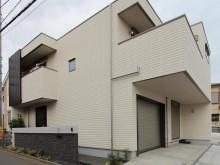 平塚市 セミオープンな外構 門まわりの施工