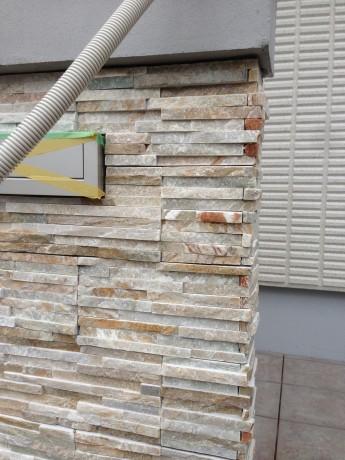 粘板岩でできたメイクランドのミルストーン