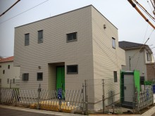 神奈川県秦野市 建物完成直後 外構施工前