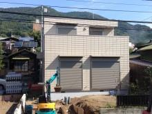 松田町 外構施工例 メジャーポート 機能門柱ウィルモダンスリム