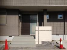 平塚市 門袖塗り壁仕上げ 施工現場