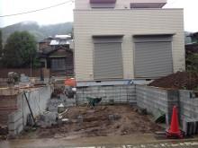 松田町 外構施工例 アプローチ ステップ