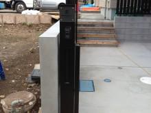 松田町 外構施工例 スリムな機能門柱