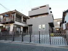 平塚市 外構施工例 伸縮門扉 エバーアートゲート