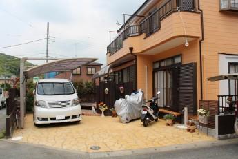駐車・駐輪がスムーズに行えるようになった車庫