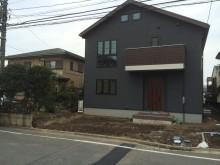 住宅完成直後の藤沢の現場