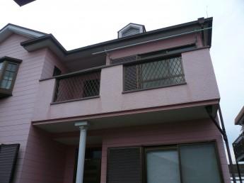屋根・外壁の塗装工事前