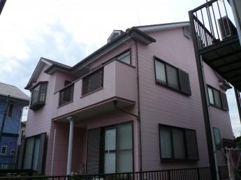外壁・屋根の塗装前