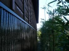 波板(トタン)はパワーMレタンで塗装しました。