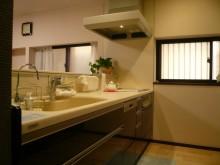 建物施工例 システムキッチン 対面キッチン シンク I型キッチン