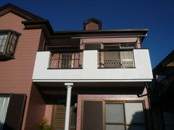 屋根・外壁の塗装工事後