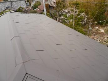 ガルバリウム鋼板を使用して屋根を改修しました