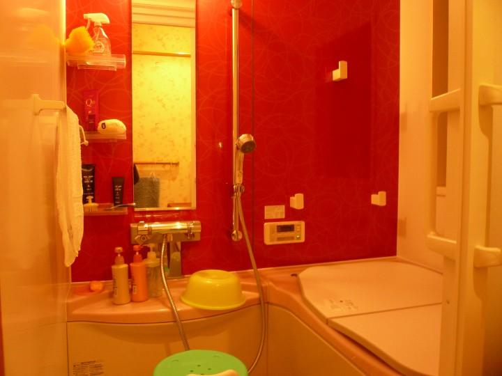 完成写真 バスルーム