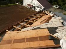 屋根の痛みが激しく野地板が腐食