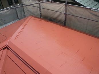 屋根フレッシュSiで塗装したカラーベストコロニアル