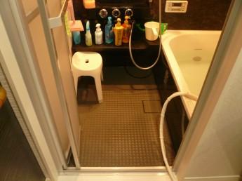 段差が無くなったバスルーム