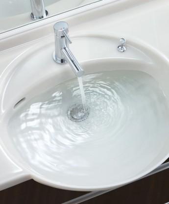 洗面化粧台 アフェットはコンパクトで狭い空間におすすめ リフォームにも対応