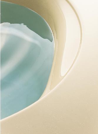 人造大理石の浴槽は汚れがつきにくくお手入れ簡単