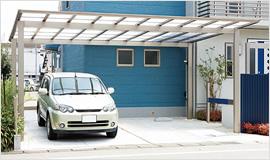アーキデュオ ワイド 2台駐車可能
